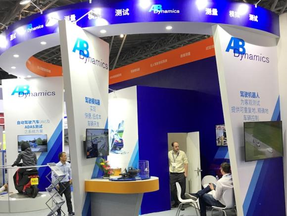 Ab Dynamics Exhibit At Testing Expo Shanghai China