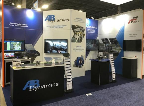 Ab Dynamics Exhibits At Testing Expo Novi Michigan
