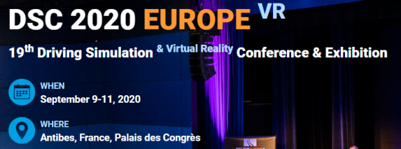 Driving Simulation Conference 2020