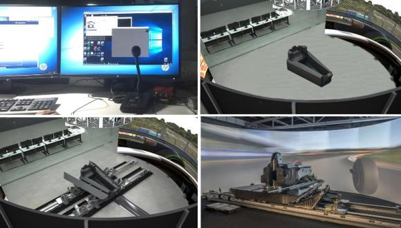 Family Of Motorport Driving Simulation Products