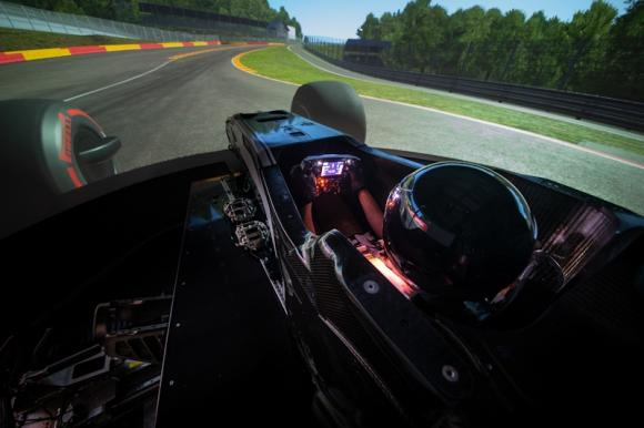 Motorsport Simulator For Race Driver Training And Instuction
